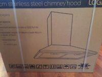 LOGIK L60CHDX13 Chimney Cooker Hood