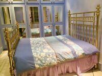 AndSoToBed Kingsize Brass Bed
