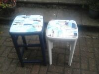 Two lovely stools, good solid quality