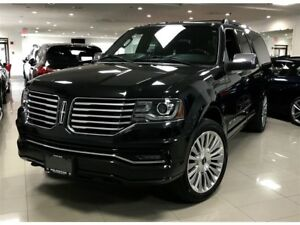 2015 Lincoln Navigator L|1OWNER|NO ACCIDENT|FULLY LOADED|BSM|DVD