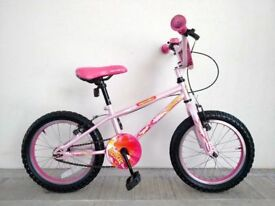 "(2764) 16"" APOLLO ROXIE Girls Kids Childs Bike Bicycle Age: 5-7, Height: 105-120 cm; PINK"