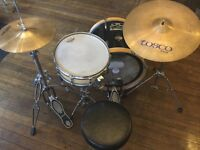 Quality parts compact drum set