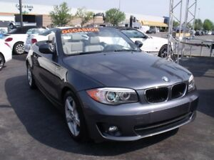 2013 BMW 1 Serie 128i+CONVERTIBLE+CUIR+AUTO