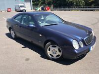 MERCEDES-BENZ CLK COUPE 3.2L AUTOMATIC WITH LONG MOT AND SERVICE HISTORY DRIVES AMAZING