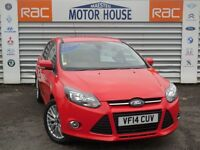 Ford Focus ZETEC (STUNNING) FREE MOT'S AS LONG AS YOU OWN THE CAR!!! (red) 2014