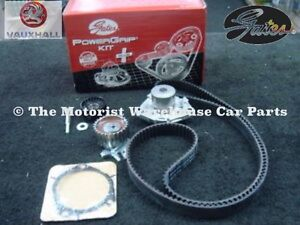 VAUXHALL VECTRA C 1.9CDTi Z19DTH 150Bhp TIMING CAM BELT KIT WATER PUMP GATES