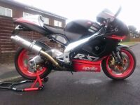 2002 APRILIA RSV MILLE RSV1000 GEN 1 VERY CLEAN AND RELIABLE EXAMPLE OF A GREAT ITALIAN MOTORCYCLE