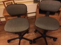 2 office chairs swivel chair desk chair