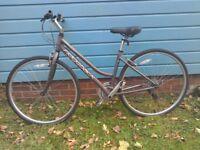 Ridgeback Motion girl's / women's hybrid bike.