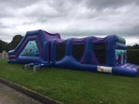 45ft Party Themed Obstacle Course