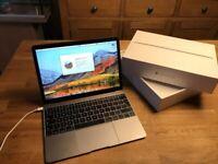 Apple MacBook 12' 1.1Ghz Core M3 8GB 251GB HD Ableton Reason Pro Tools Waves FM8 Logic Pro X Office