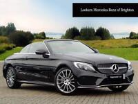 Mercedes-Benz C Class C 250 D AMG LINE PREMIUM PLUS (black) 2016-10-31