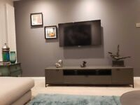 TV stand TV cabinet shelf unit alphason chaplin 2000mm