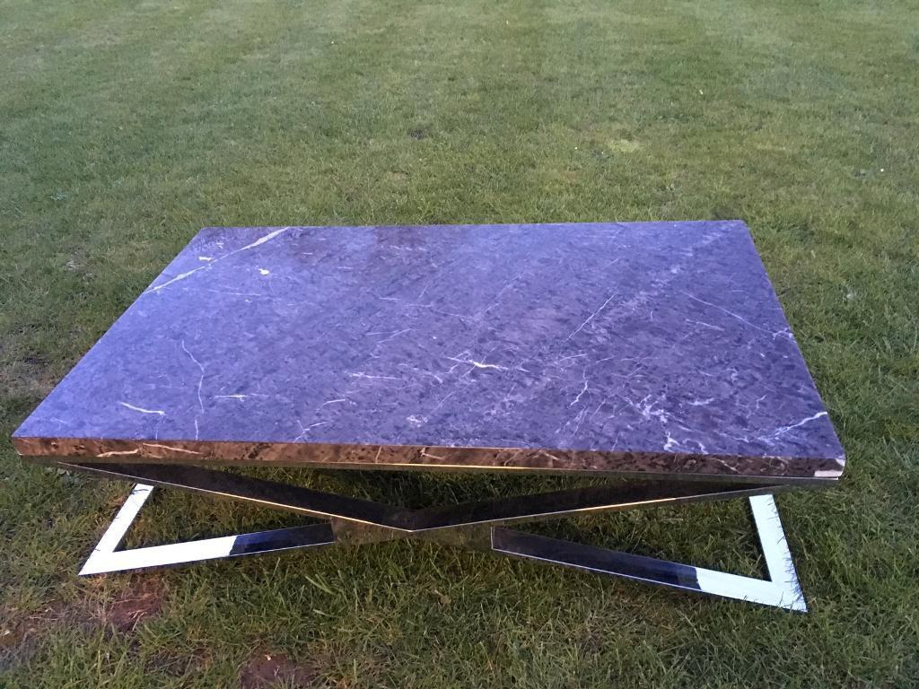 dfs selina marble coffee table for sale!   in bury st edmunds