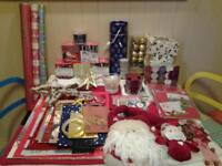 CHRISTMAS COUNTDOWN .. 50+ ACCESSORIES .. CARDS, ALL WRAPPING, DECORATIONS, ETC..
