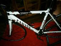 Canyon carbon road bike as new
