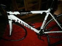 Canyon carbon road bike as new