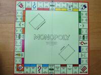 Monopoly set - classic red box / vintage / original
