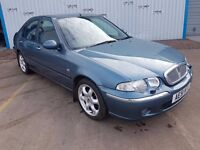 2001 ROVER 45 - ONLY 62000 MILES - MOT DEC 17