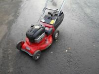 Rover 22 ins self propelled mower.