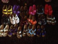 Birkenstock sandals 17 pairs size 3