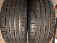 225/35r20 Michelin tyres qty off two
