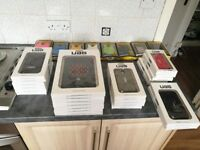 Apple iPad, iPhone and Samsung Smartphone Mobile Cases/Covers Job Lot