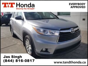 2015 Toyota Highlander LE* Rear Camera, Bluetooth, No Accidents*