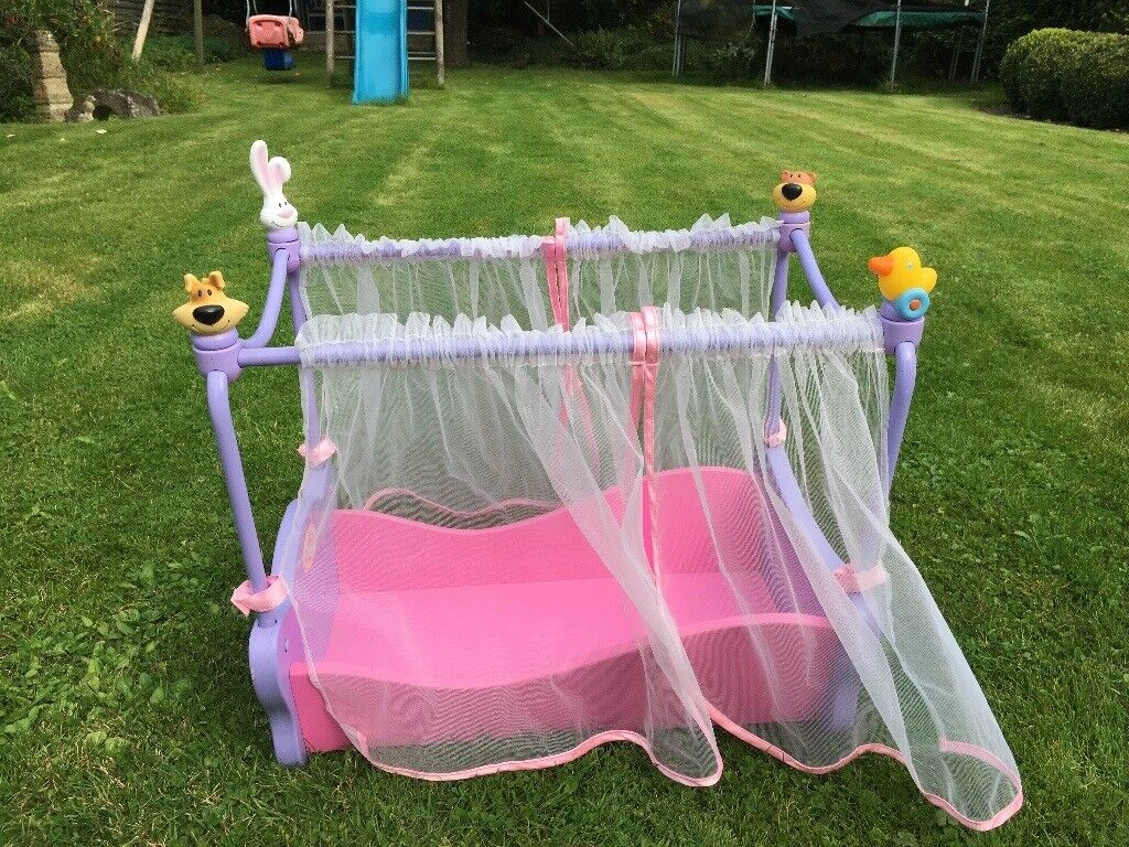 Baby Born Four Poster Cot