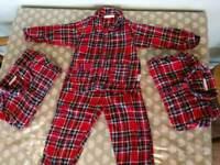 Jojo maman bebe pajamas x 3