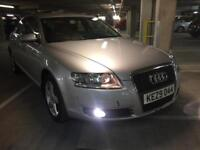 2007 audi a6 2.0 tdi se 6 speed satnav pdc hids xenons 1 owner from new spare key brilliant cond wow