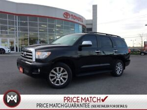 2010 Toyota Sequoia DVD NAVI 4X4 LAODED loaded