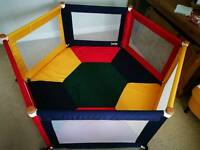TikkTokk Fabric Playpen