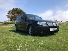 BMW X3 twin turbo modified