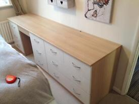 11 draw bedroom dresser.