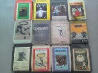 8 track cassettes small collection