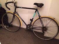 Road Bike - BSA/Raleigh - Black/Yellow
