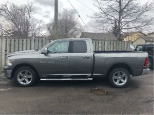 2012 Ram 1500 SLT 4WD CHROME MAGS BUCKETS & CONSOLE