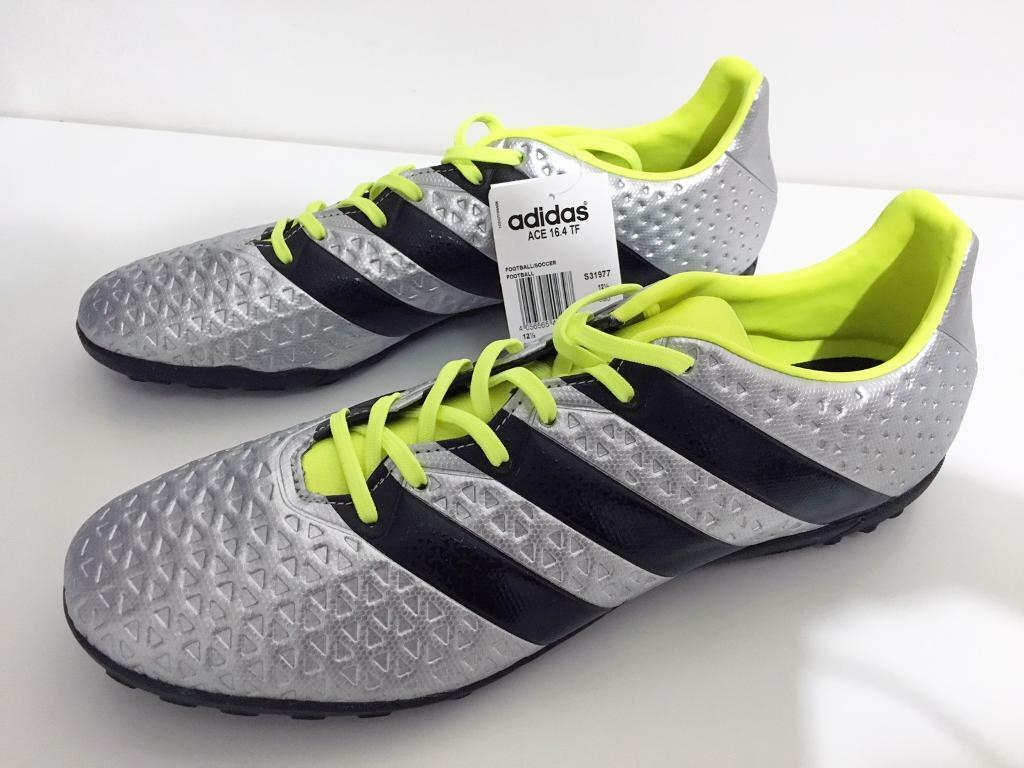 best service 1d426 b9cf9 ... uk adidas ace 16.4 turf shoes size 12.5uk new 2090f f683d