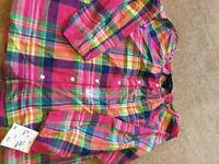 Ralph Lauren girls top bnwt size 6 5-7 years