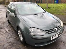 Volkswagen VW golf with geniue low mileage of 34,000 6 speed Automatic