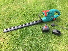 Bosch cordless hedge trimmers cutters