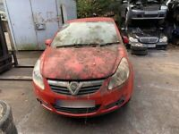 BREAKING Vauxhall Corsa Life 1.0 Red door bumper wing window glass front rear offside nearside lock