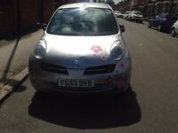 NISSAN MICRA 1.0 SILVER LOW MILEAGE 2004
