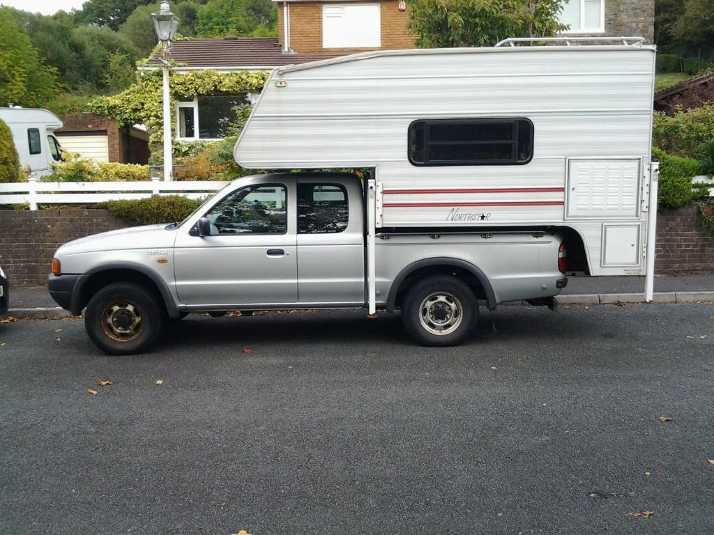 ford ranger pick up camper. Black Bedroom Furniture Sets. Home Design Ideas