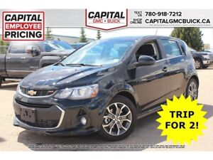 2017 Chevrolet Sonic LT HB REMOTE START SUNROOF HEATED SEATS 23K