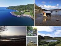 Loch Side Holiday Cottages on Private Argyll Estate, West Coast. Kids/Dogs/Boats/Kayaks Welcome