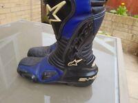 Alpinestars SMX leather boots size euro 44