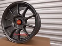 """K14* 4X NEW 15"""" ALLOYS ALLOY WHEELS DISHED BBS STYLE 4X108 FORD FIESTA ESCORT CITREON RENAULT CLIO"""