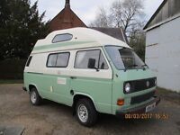 1991 VW Transporter Caravan, Good Condition, 98000 miles, 4 berth